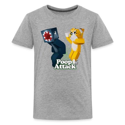 Poop Attack - Kid's Premium - Kids' Premium T-Shirt