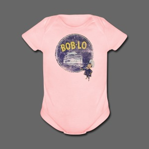 Old Boblo - Short Sleeve Baby Bodysuit