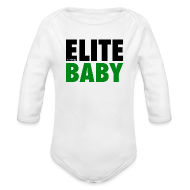 Baby Bodysuits ~ Baby Long Sleeve One Piece ~ SportsPickle ELITE one-sie for Babies