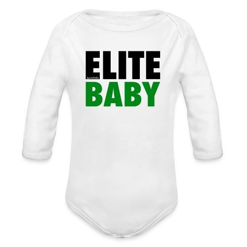 SportsPickle ELITE one-sie for Babies - Organic Long Sleeve Baby Bodysuit