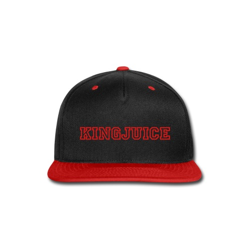 KingJuice Snapback (Red) - Snap-back Baseball Cap