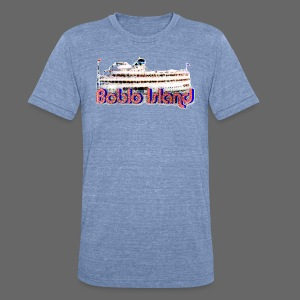 Boblo Island - Unisex Tri-Blend T-Shirt by American Apparel