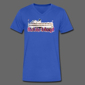 Boblo Island - Men's V-Neck T-Shirt by Canvas