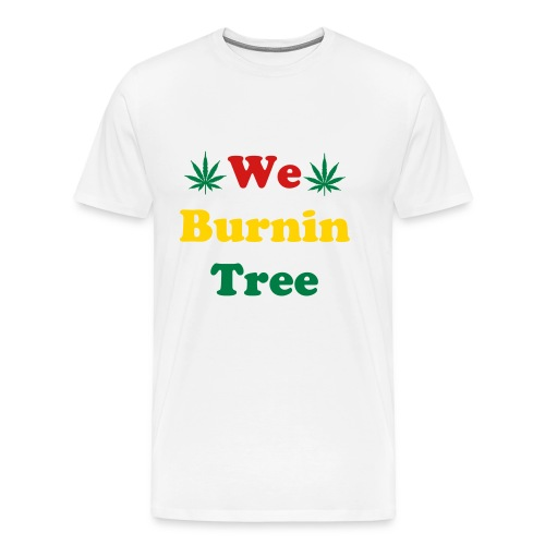 We Burnintree t-shirt *Rasta* - Men's Premium T-Shirt