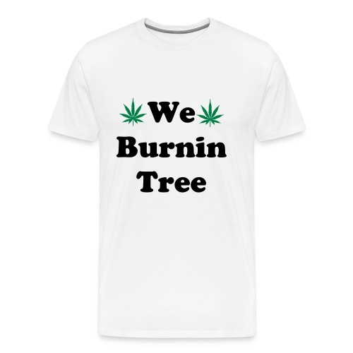 We Burnintree t-shirt *Black* - Men's Premium T-Shirt