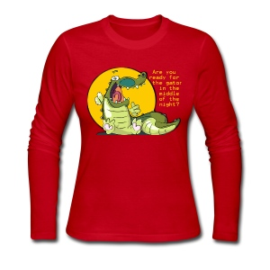 Are you ready for the gator... - Women's Long Sleeve Jersey T-Shirt