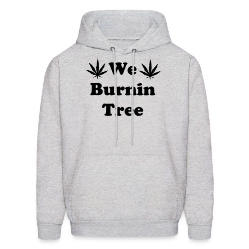 We Burnintree Hoodie *Black* - Men's Hoodie