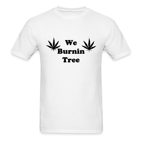 We Burnintree t-shirt *Black* - Men's T-Shirt