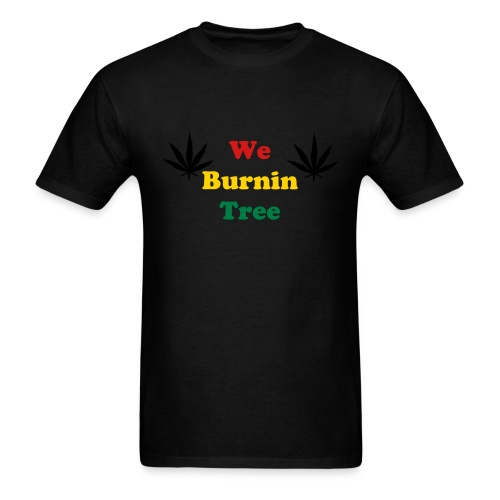 We Burnintree t-shirt *Rasta* - Men's T-Shirt