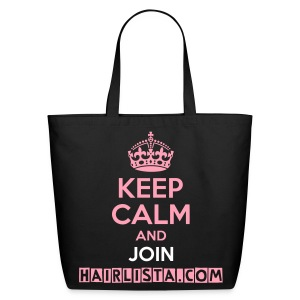 Keep Calm Hairlista Tote - Eco-Friendly Cotton Tote