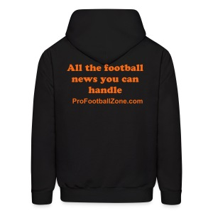 Men's Black Hooded Sweat Shirt - Men's Hoodie