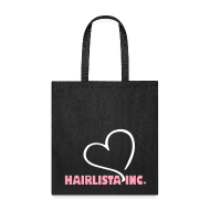 Bags & backpacks ~ Tote Bag ~ Heart Hairlista Inc.Tote - Black