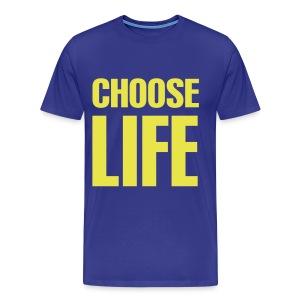 Men's Choose Life - Men's Premium T-Shirt