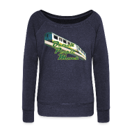 Long Sleeve Shirts ~ Women's Wideneck Sweatshirt ~ Detroit People Mover