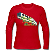 Long Sleeve Shirts ~ Women's Long Sleeve Jersey T-Shirt ~ Detroit People Mover