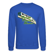 Long Sleeve Shirts ~ Crewneck Sweatshirt ~ Detroit People Mover