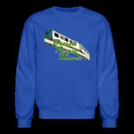 Long Sleeve Shirts ~ Crewneck Sweatshirt ~ Detroit People Mover