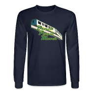 Long Sleeve Shirts ~ Men's Long Sleeve T-Shirt ~ Detroit People Mover