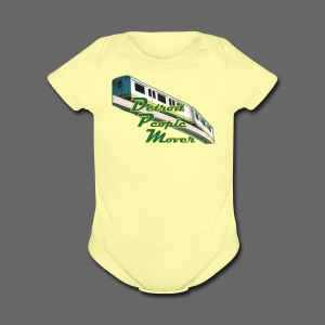 Detroit People Mover - Short Sleeve Baby Bodysuit