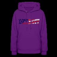 Hoodies ~ Women's Hoodie ~ A Detroit Flag