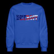 Long Sleeve Shirts ~ Crewneck Sweatshirt ~ A Detroit Flag