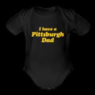 Baby Bodysuits ~ Baby Short Sleeve One Piece ~ Pittsburgh Baby Onsie