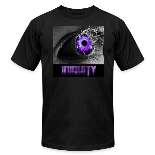 Original Iniquity Shirt (American Apparel) - Men's Fine Jersey T-Shirt