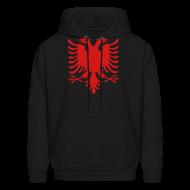 Hoodies ~ Men's Hoodie ~ Albanian Eagle Hoodie