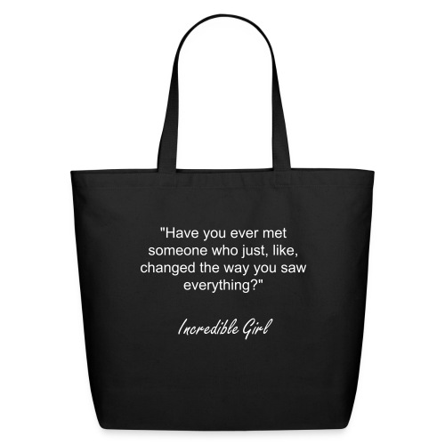 Incredible Girl Tote Bag - Eco-Friendly Cotton Tote
