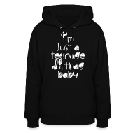 Hoodies ~ Women's Hoodie ~ TEENAGE DIRTBAG
