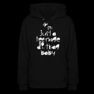 Hoodies ~ Women's Hoodie ~ TEENAGE DIRTBAG