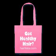Bags & backpacks ~ Tote Bag ~ Got Healthy Hair Tote - Pink