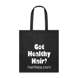 Got Healthy Hair Tote - Pink - Tote Bag