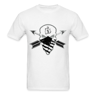 T-Shirts ~ Men's T-Shirt ~ Birmingham Barons Gray