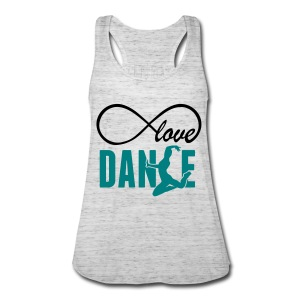 love dance- loop shirt - Women's Flowy Tank Top by Bella