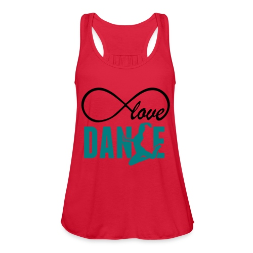 love dance- loop shirt - Women's Flowy Tank Top by Bella