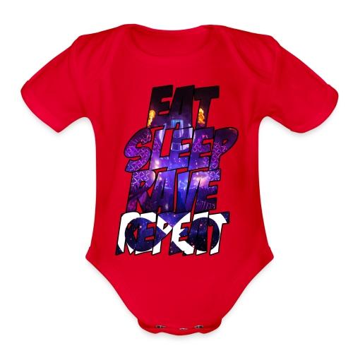 routine baby shirt - Organic Short Sleeve Baby Bodysuit