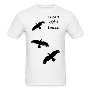White Team Odin Force Ravens - Men's T-Shirt