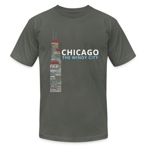 The Windy City  - Men's Fine Jersey T-Shirt