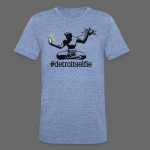 Detroit Selfie - Unisex Tri-Blend T-Shirt