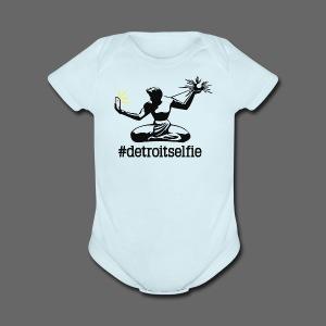 Detroit Selfie - Short Sleeve Baby Bodysuit