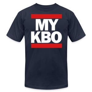 Run MyKBO (American Apparel) - Men's Fine Jersey T-Shirt