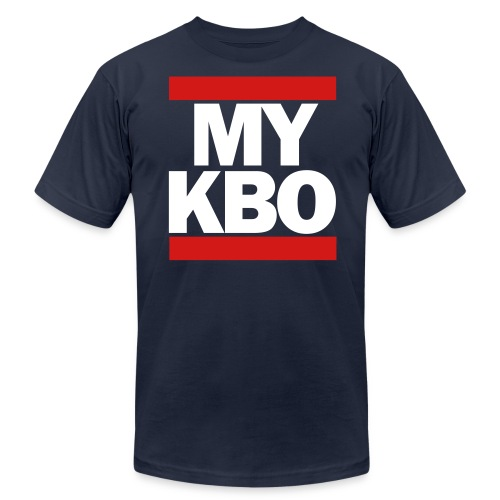 Run MyKBO (American Apparel) - Men's Jersey T-Shirt