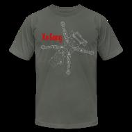 T-Shirts ~ Men's T-Shirt by American Apparel ~ XuGong Grey