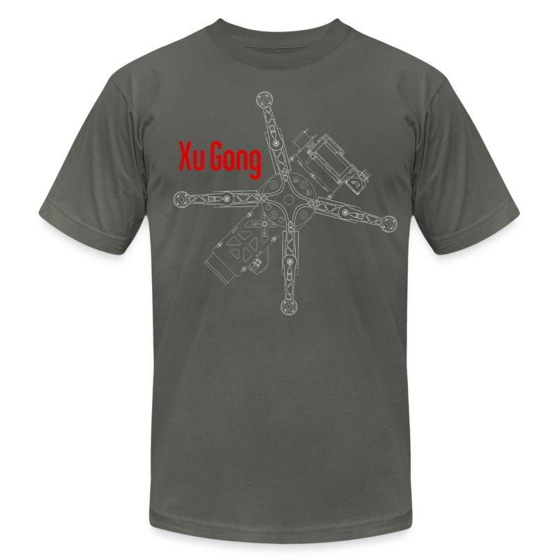 XuGong Grey - Men's Fine Jersey T-Shirt
