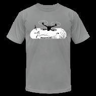 T-Shirts ~ Men's T-Shirt by American Apparel ~ ImmersionRC Blast