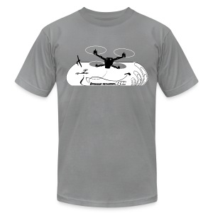 ImmersionRC Blast - Men's T-Shirt by American Apparel