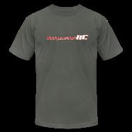 T-Shirts ~ Men's T-Shirt by American Apparel ~ ImmersionRC Logo Grey