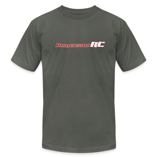 ImmersionRC Logo Grey - Men's Fine Jersey T-Shirt