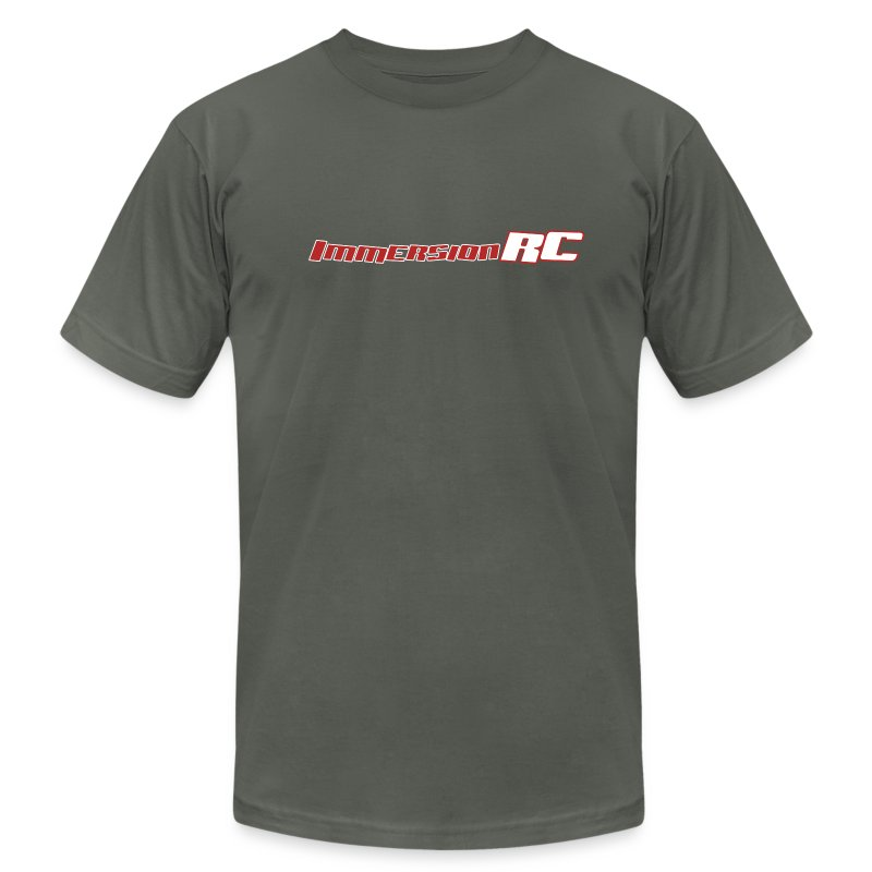 ImmersionRC Logo Grey - Men's T-Shirt by American Apparel